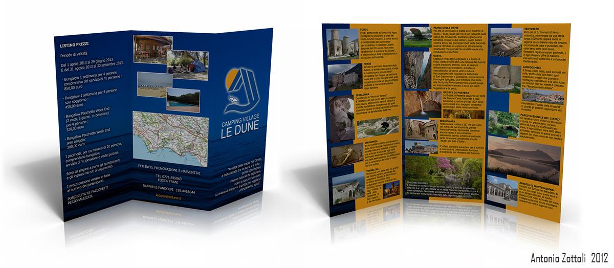Le Dune - Brochure - A. Zottoli