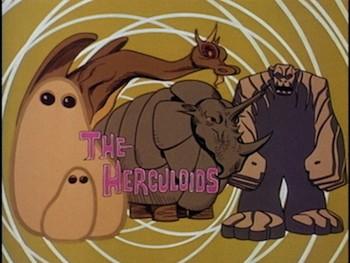 The Herculoids Serie TV
