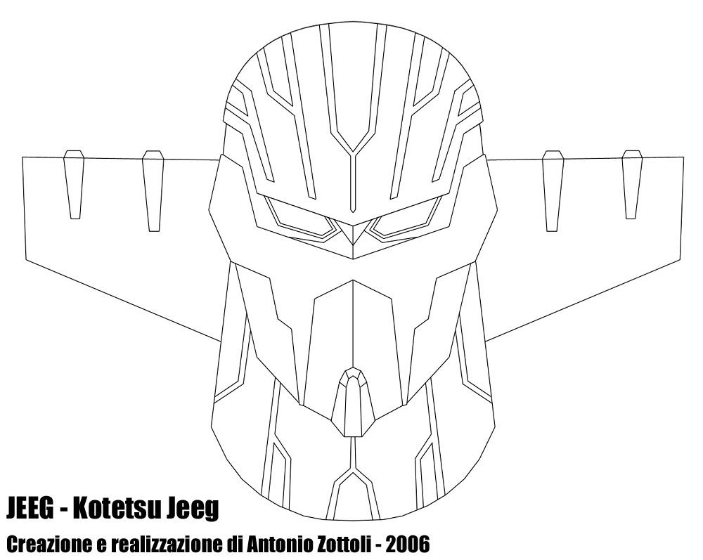 Jeeg 2 by Antonio Zottoli