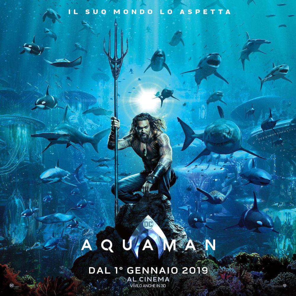 Aquaman - Locandina CF