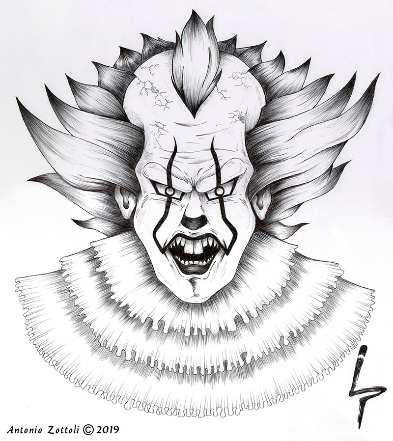 IT Pennywise 2018 BN by A. Zottoli