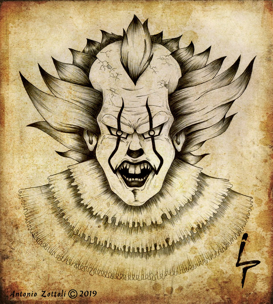IT Pennywise 2019 by A. Zottoli